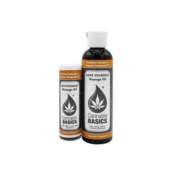 Cannabis Basics Love Yourself Massage Oil