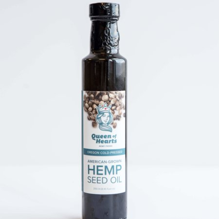 Queen Of Hearts Hemp Seed Oil 12oz
