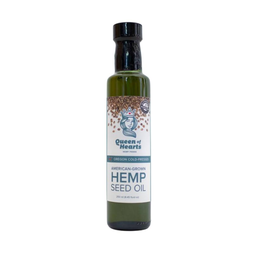 queen of hearts hemp seed oil 250 ml