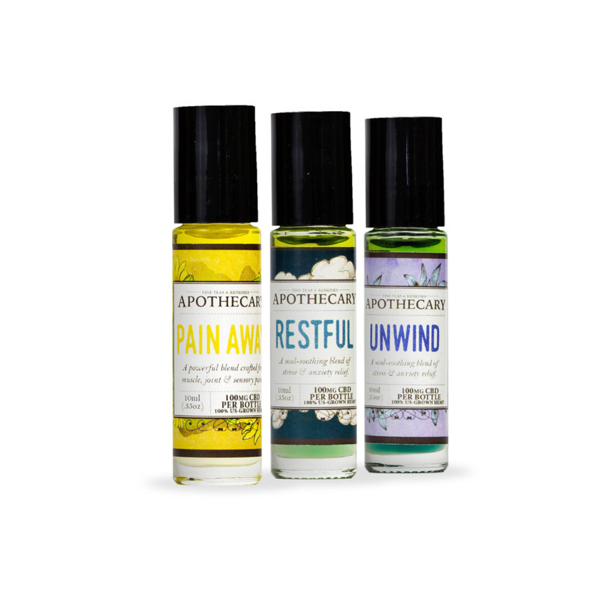 The Brothers Apothecary CBD Essential Oil Rollers