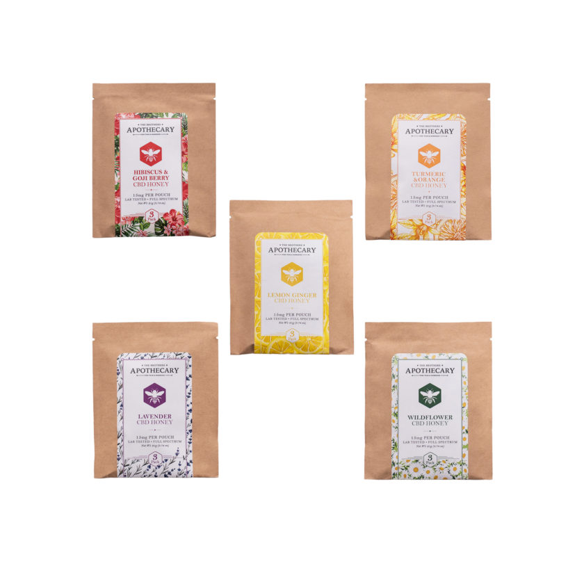 The Brothers Apothecary CBD Honey Packets