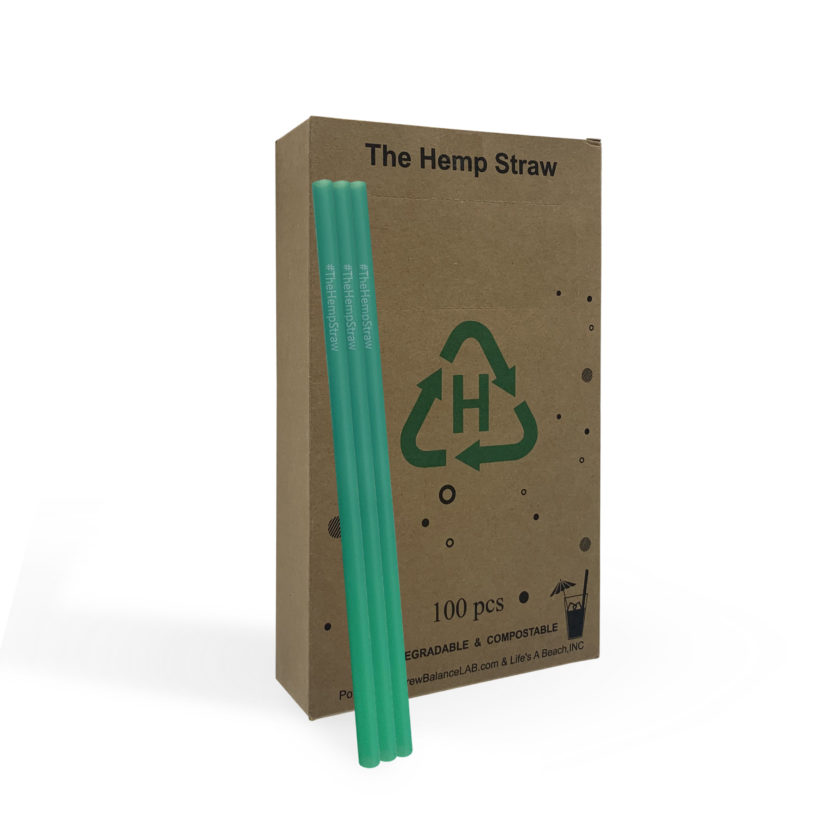 Hemp Straws – Compostable