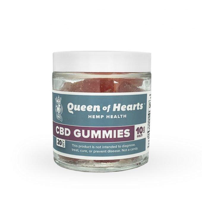 Queen of Hearts CBD Vegan Gummies THC Free