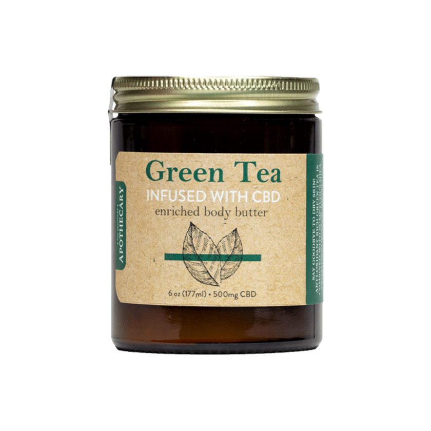 The Brothers Apothecary CBD Green Tea Body Butter
