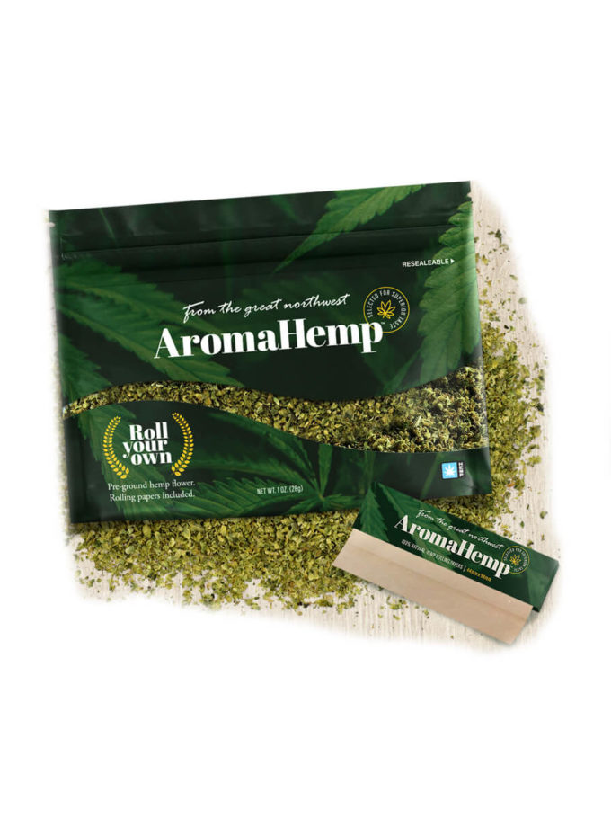 AromaHemp CBD Kush Hemp Flower Roll Your Own