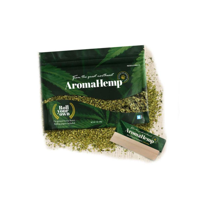 AromaHemp Kush Hemp CBD Roll Your Own (1 oz)