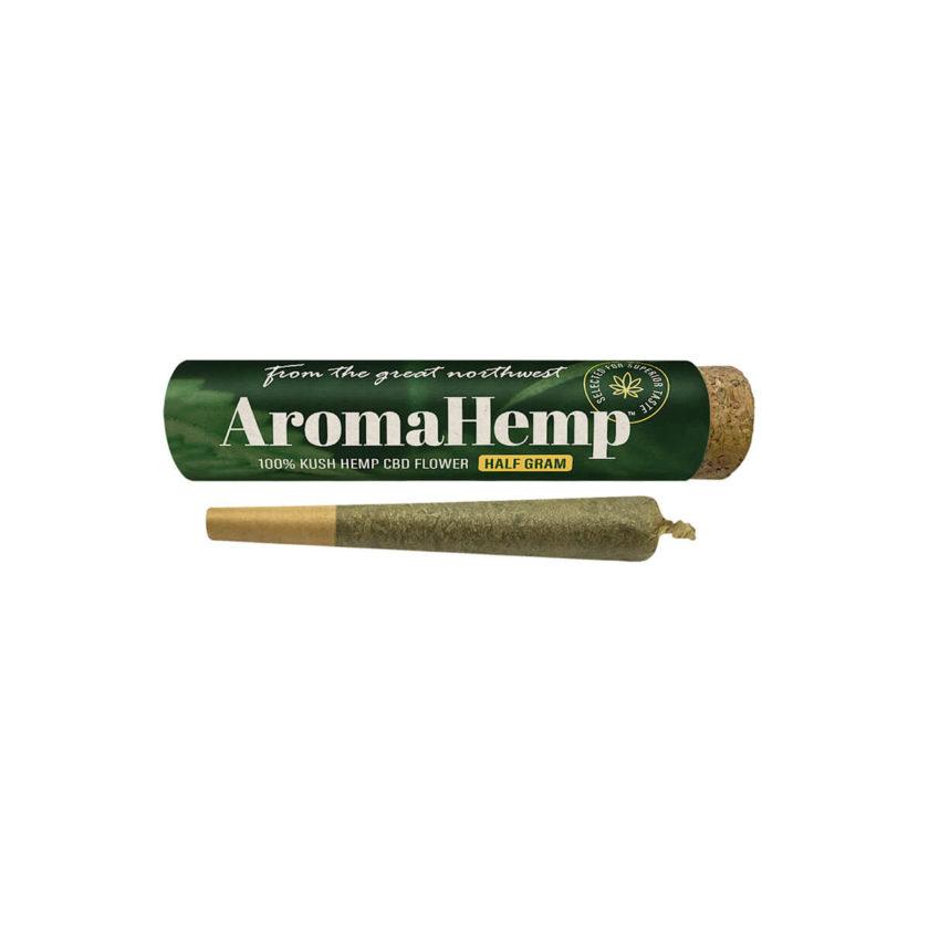 AromaHemp CBD Kush Hemp Half Gram Preroll