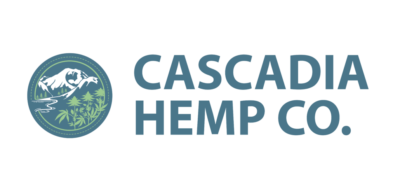 Cascadia Hemp Co. logo with name text to the right