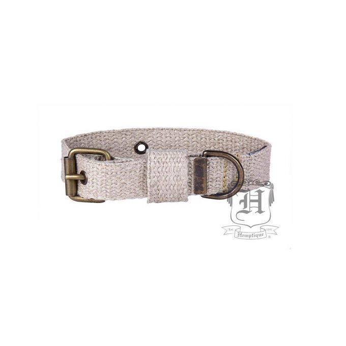 Hemptique hemp dog collar 53 cm in diameter
