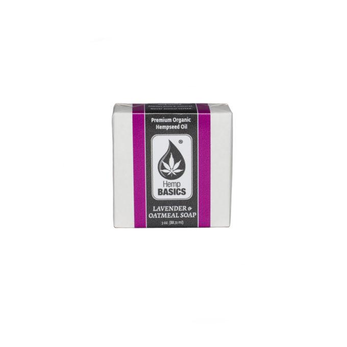 Hemp Basics Lavender & Oatmeal Hemp Soap