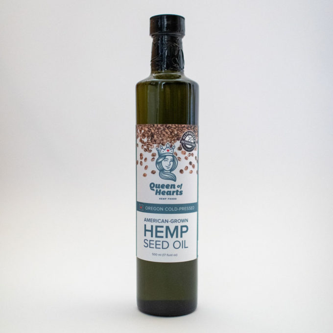Queen of Hearts Hemp Seed Oil