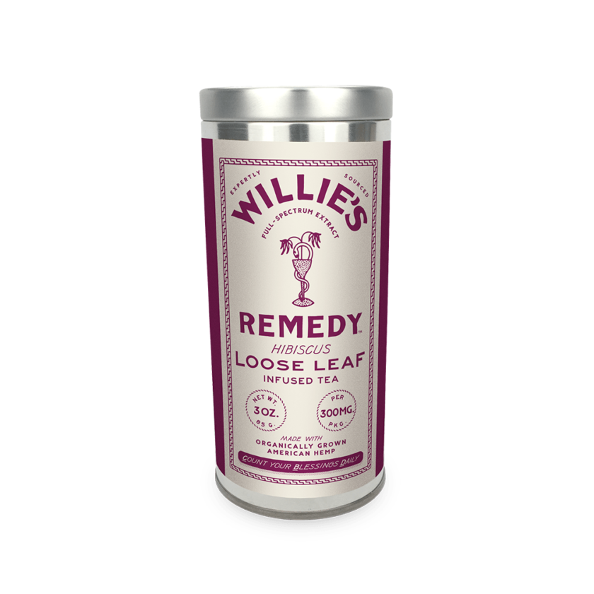 Willie's Remedy CBD Tea