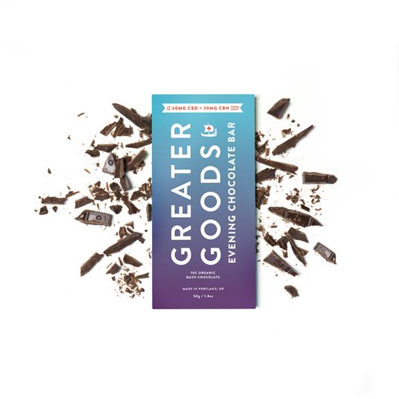Greater Goods CBD & CBN Chocolate
