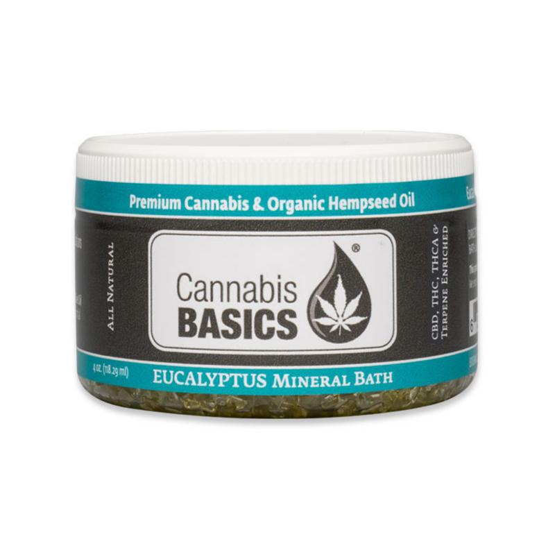 cannabis basics cbd eucalyptus mineral bath