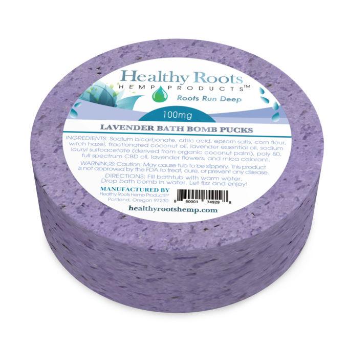 Healthy Roots CBD Bath Pucks
