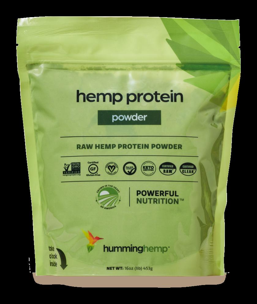 Humming Hemp Protein Powder