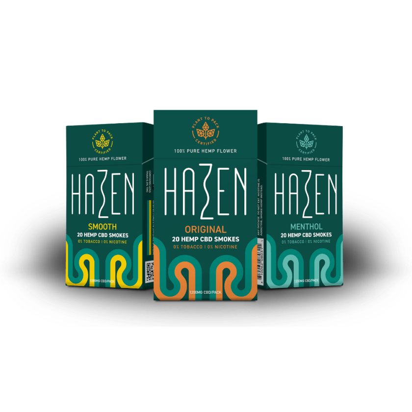 hazen cbd hemp smokes collection